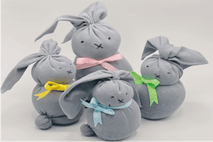 March Make Box Build a Bunny Family, Family Presents