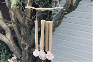 July Do Box Family Presents - Create a wind chime